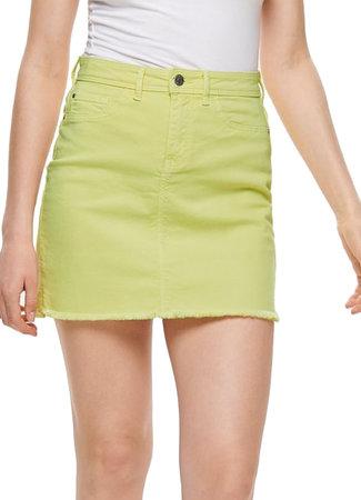 Anica skirt yellow