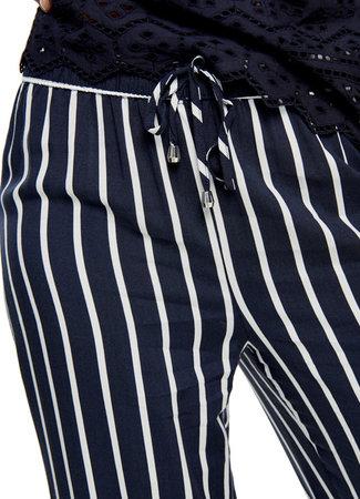 Wide pants blue