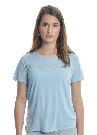 Sparkling top light blue