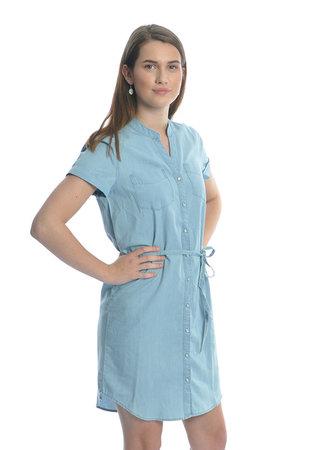 Shinest dress light blue