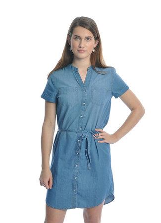 Shinest dress blue