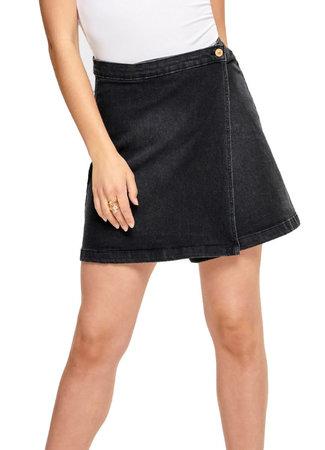 Ally wrap skirt
