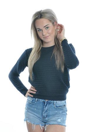Peyton pullover blue