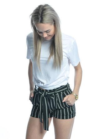 TESS V Leila shorts black