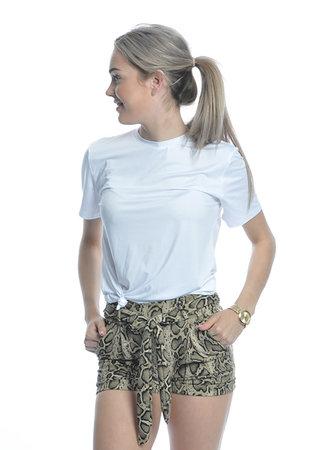 TESS V Leila shorts snake