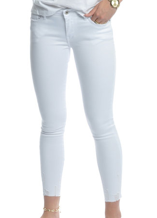 Queen Hearts Queen hearts Livia jeans white