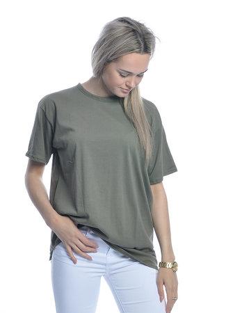 TESS V Oversized T-shirt green