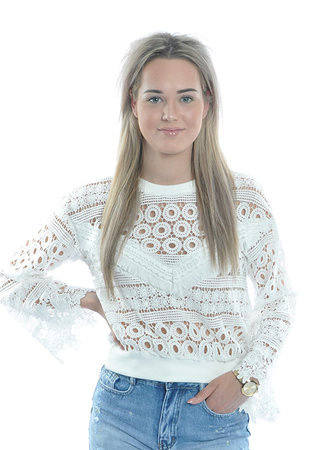 TESS V Livia Lace sweater