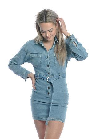 TESS V Denim dress