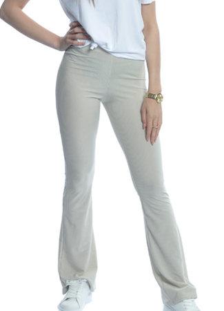 TESS V Lilo flared pants beige