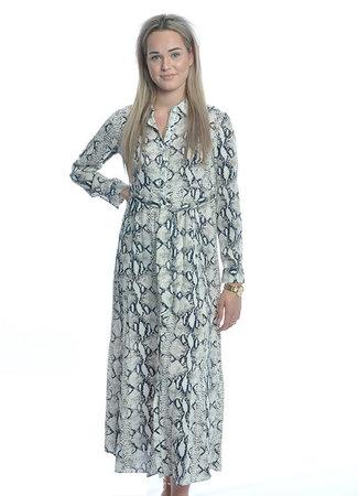 TESS V Lizz maxi jurk beige