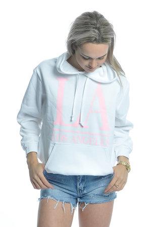 TESS V LA Hoodie light pink