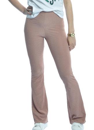 TESS V Lilo flared pants pink