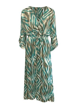 TESS V Nova maxi dress turquoise
