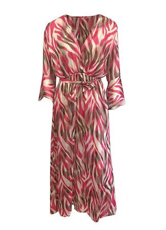 TESS V Nova maxi dress pink