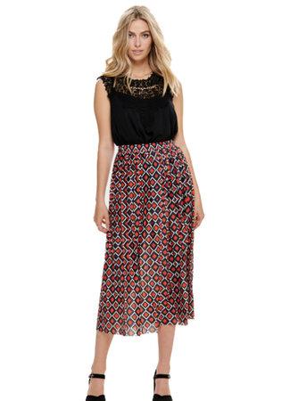 Harper skirt squares