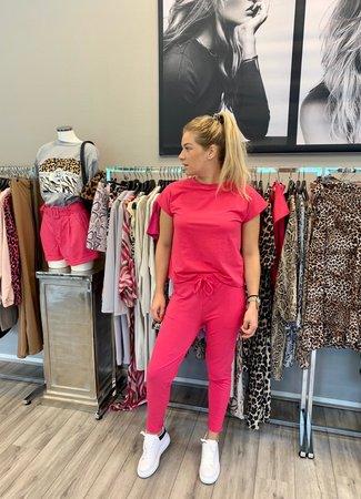 TESS V Livia jogging set pink