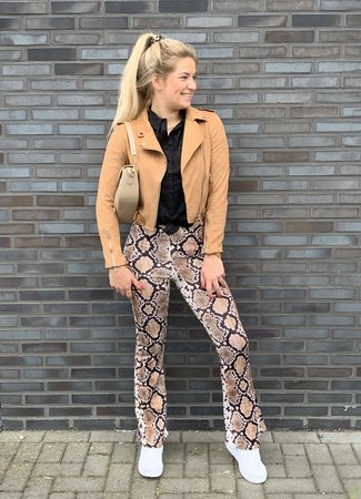 TESS V Lilou flared pants