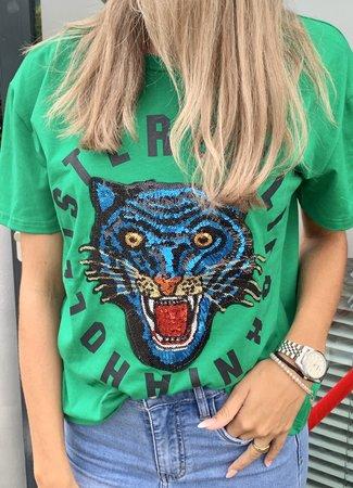 TESS V Lexi shirt green