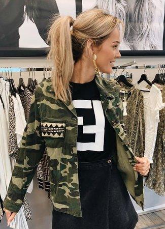TESS V Luna army jacket