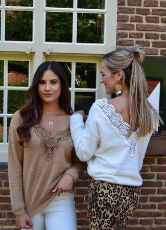 TESS V Yara sweater brown