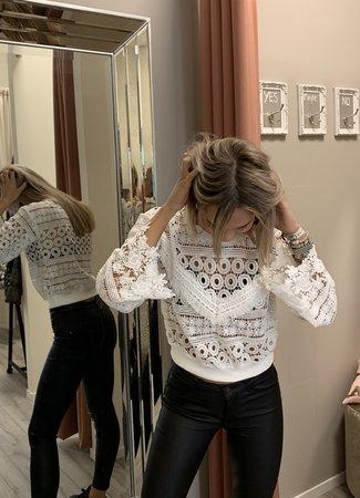 TESS V Livia Lace sweater