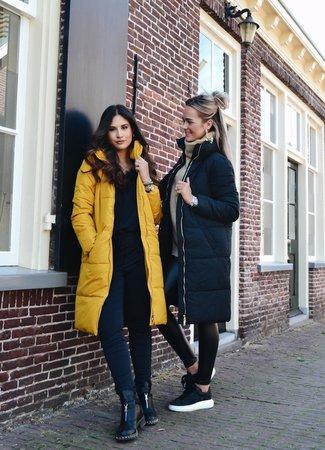 Erica padded jacket black