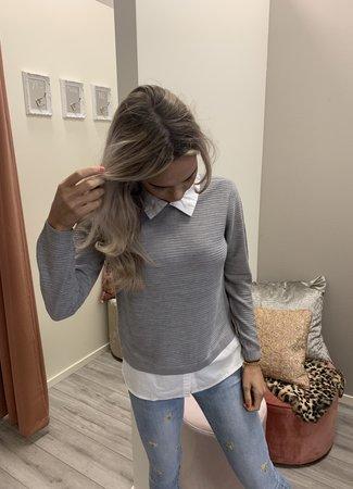 Mathison pullover grey