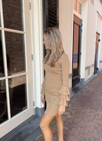 TESS V Romee dress beige