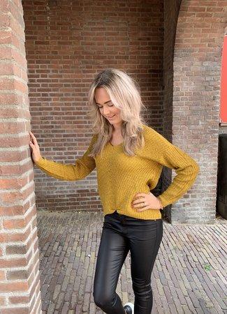 Megan pullover yellow