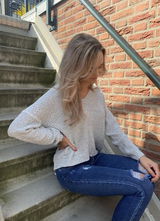 Megan pullover grey