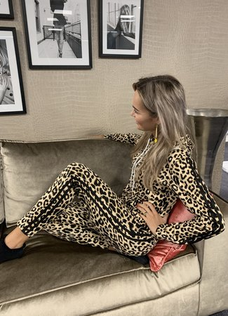 TESS V Leo lounge set black