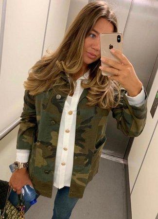 TESS V Leona army jacket