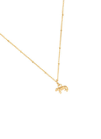TESS V Tiger necklace gold