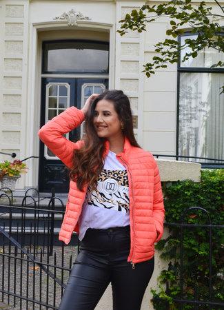 TESS V Mae jacket orange