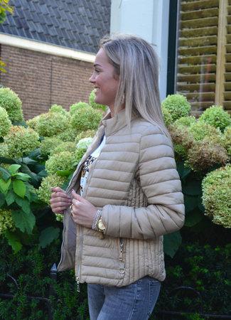TESS V Mae jacket beige