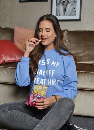TESS V Day off sweater blue