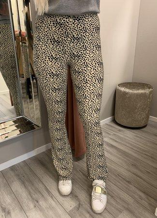 TESS V Joyce flared pants beige