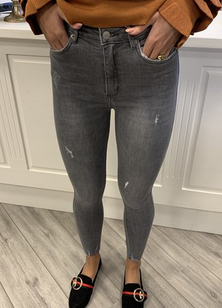 MISS Amy jeans grey