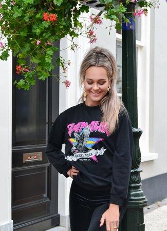 TESS V Glamour sweater black