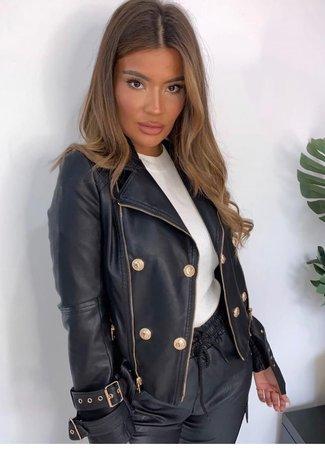 TESS V Kate leather jacket