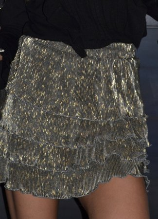 TESS V Isabeau skirt glitter