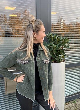 TESS V Romy jacket green