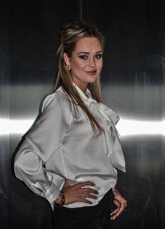 TESS V Chloe blouse white