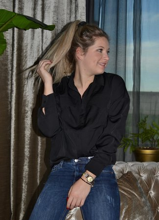 TESS V Feline blouse black