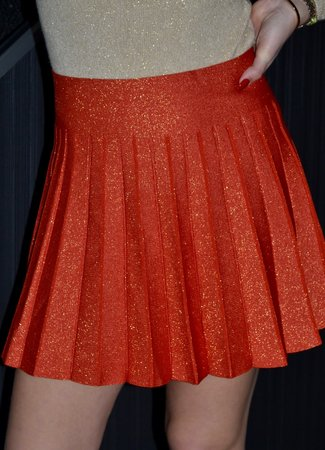 TESS V Lulu skirt orange