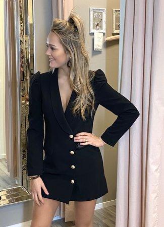 TESS V Chloe blazer dress