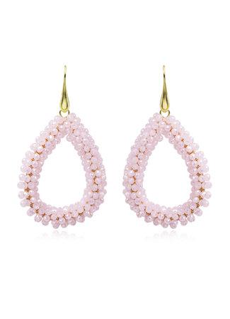TESS V Suus oorbellen roze