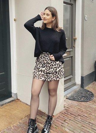 TESS V Lizzie sweater black