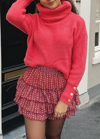 TESS V Jill skirt red